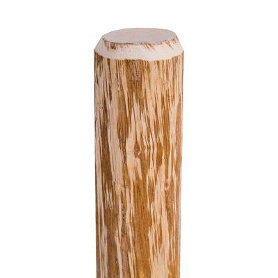 vidaXL Słupki ogrodzeniowe, szpiczaste, 4 szt., leszczyna, 90 cm