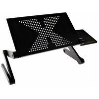 United Entertainment Wielofunkcyjny stojak pod laptopa, czarny