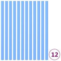 vidaXL Piankowe rękawy na trampolinę, 12 szt., 92,5 cm, niebieskie
