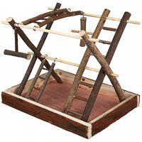 TRIXIE Plac zabaw dla ptaków Natural Living, 35x27x30 cm, drewno, 5663