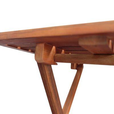 vidaXL Stolik bistro, 46x46x47 cm, lite drewno akacjowe