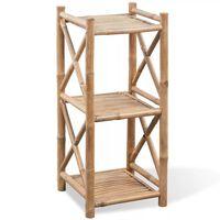 3 poziomowa bambusowa półka