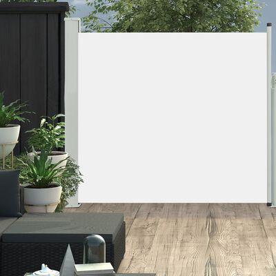 vidaXL Wysuwana markiza boczna na taras, 170 x 300 cm, kremowa