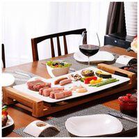 Princess Chef Grill stołowy Pure, 2500 W, biały