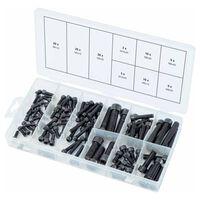 KS Tools 106-częściowy zestaw śrub sześciokątnych, metrycznych