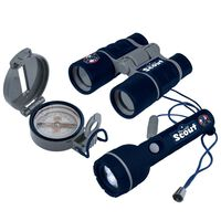 Scout 3-częściowy zestaw dla małego poszukiwacza przygód, niebieski