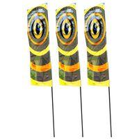 Velda Flagi odstraszające ptaki, 3 szt., 100 cm, 148205