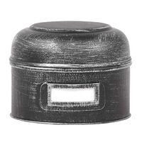 LABEL51 Pojemnik, 13x13x10 cm, S, antyczna czerń