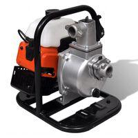vidaXL Spalinowa pompa wody, 2 suwowa 1,2 kW 0,95 L
