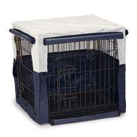 Beeztees Pokrowiec na klatkę dla psa Benco, 63 x 55 x 61 cm, niebieski