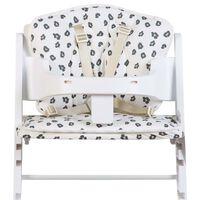CHILDHOME Uniwersalna poduszka do wysokiego krzesełka, dżersej lampart