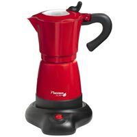 Bestron Kawiarka do espresso 6 filiżanek, 480 W, czerwona, AES480