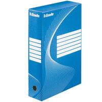 Esselte Pudełka archiwizacyjne, 25 szt., niebieskie, 80 mm