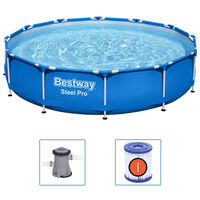 Bestway Basen Steel Pro ze stelażem, 366x76 cm