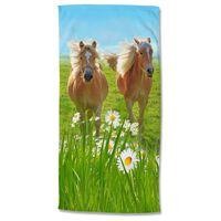 Good Morning Ręcznik plażowy HORSES, 75x150 cm, kolorowy