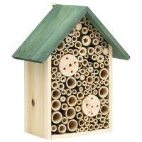 vidaXL Domki dla owadów, 2 szt., 23x14x29 cm, lite drewno jodłowe
