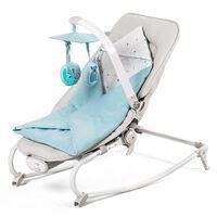 Kinderkraft Bujaczek niemowlęcy FELIO 3-w-1, jasnoniebieski