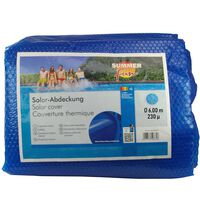 Summer Fun Plandeka solarna na basen, okrągła, 600 cm, PE, niebieska