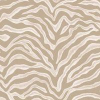 Noodwand Tapeta Zebra Print, beżowa