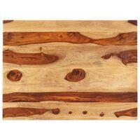 vidaXL Blat stołu, lite drewno sheesham, 25-27 mm, 60x90 cm
