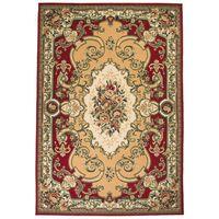 vidaXL Orientalny dywan, 160 x 230 cm, czerwono-beżowy