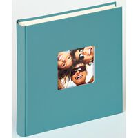 Walther Design Album na fotografie Fun, 30x30 cm, petrol, 100 stron