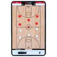 Pure2Improve Dwustronna tablica trenerska do piłki koszykówki, 35x22cm