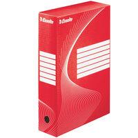 Esselte Pudełka archiwizacyjne, 25 szt., czerwone, 80 mm