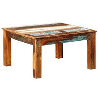 vidaXL Kwadratowy stolik kawowy z drewna odzyskanego