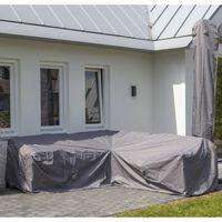 Madison Pokrowiec na zestaw ogrodowy, 270x270x70 cm, szary