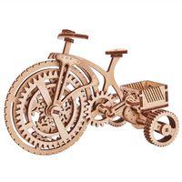 Wood Trick Drewniany model roweru, zestaw modelarski