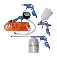 Scheppach Zestaw narzędzi pneumatycznych, 5 sztuk