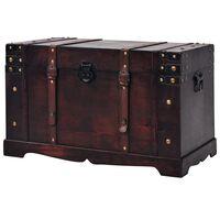 vidaXL Skrzynia w stylu vintage, drewniana, 66 x 38 x 40 cm