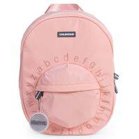 CHILDHOME Plecak szkolny ABC, różowy z miedzianymi akcentami