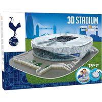 Nanostad 75-częściowe puzzle 3D Tottenham Hotspur Stadium