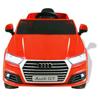 vidaXL Elektryczny samochód dla dzieci, Audi Q7, czerwony,  6 V