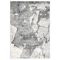 vidaXL Dywan, szary, 160 x 230 cm, PP