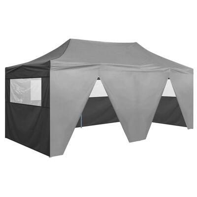 vidaXL Profesjonalny, składany namiot imprezowy, 4 ściany, 3x6 m, stal