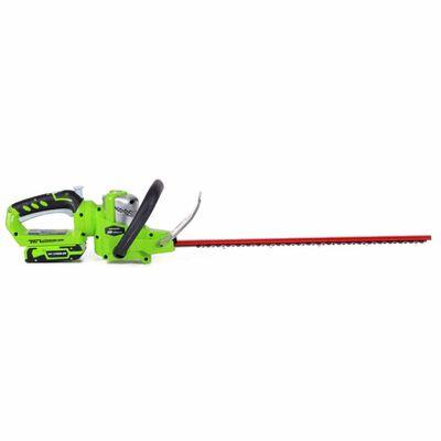 Greenworks Nożyce do żywopłotu Deluxe G24HT57 bez baterii 24 V 2200107