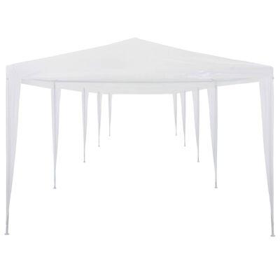 vidaXL Namiot imprezowy, 3 x 12 m, PE, biały