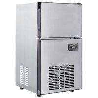 vidaXL Kostkarka do lodu, 420 W, 50 kg / 24 h