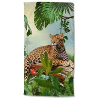 Good Morning Ręcznik plażowy JUNGLE, 100x180 cm, kolorowy