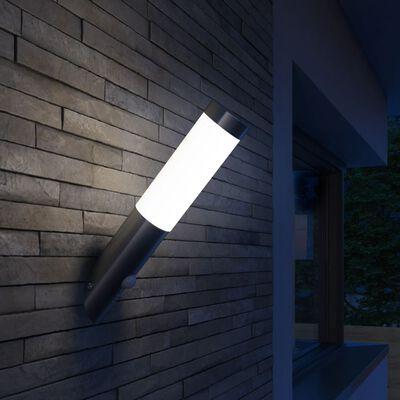 Lampa ogrodowa, ścienna z czujnikiem ruchu
