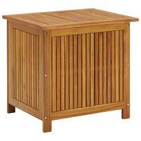 vidaXL Skrzynia ogrodowa, 60 x 50 x 106 cm, lite drewno akacjowe