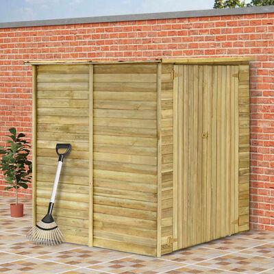 vidaXL Szopa na narzędzia, 157x159x178 cm, impregnowane drewno sosnowe
