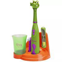 Bestron Szczoteczka do zębów dla dzieci z motywem krokodyla, DSA3500A