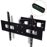 """vidaXL Podwójny, obrotowy montowany na ścianie uchwyt TV 3D 600 x 400 mm 37"""" - 70"""""""