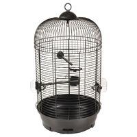 FLAMINGO Klatka dla papużek Sanna 2, 35x35x67 cm, czarna