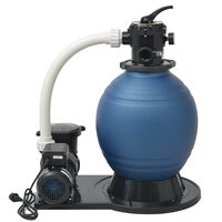 vidaXL Pompa z filtrem piaskowym, 1000 W, 16800 L/h, XL