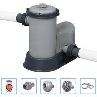 Bestway Pompa filtrująca Flowclear do basenu, 5678 L/h